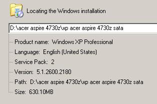 acer windows xp iso